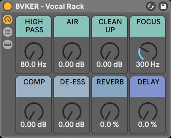 Ableton Vocal Rack