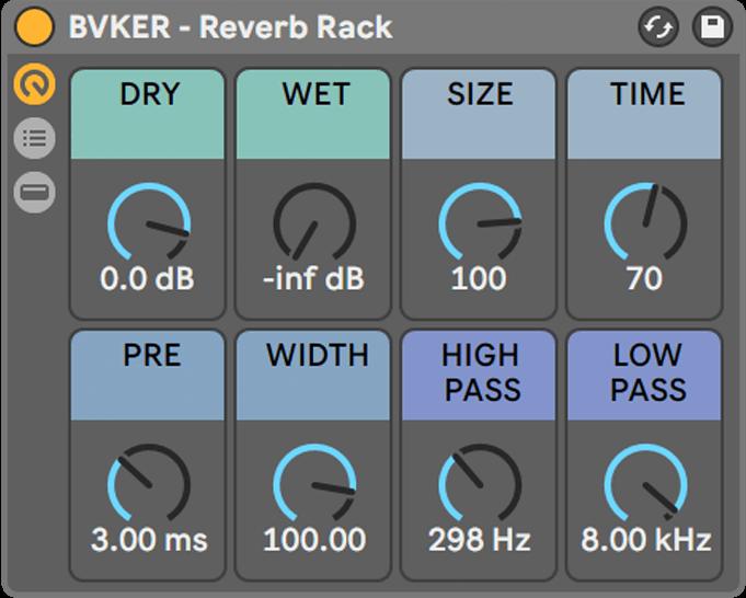 BVKER - Reverb Rack