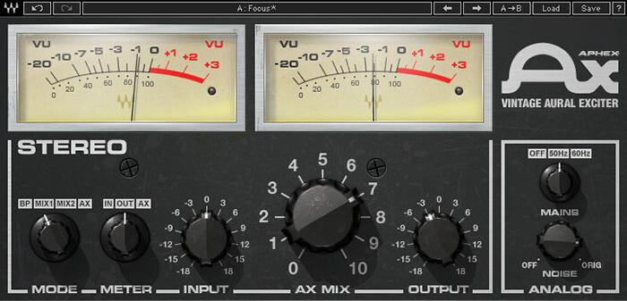 Waves Aphex Vintage Exciter Screenshot