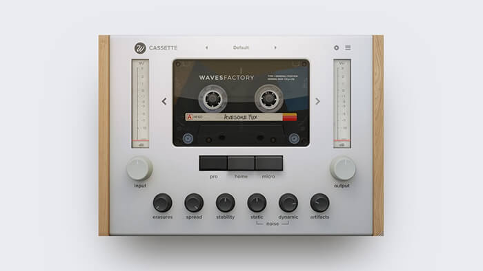 Wavesfactory Cassette Screenshot