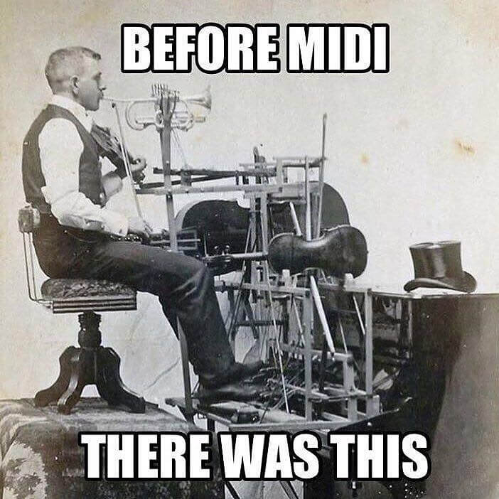 before midi there was this