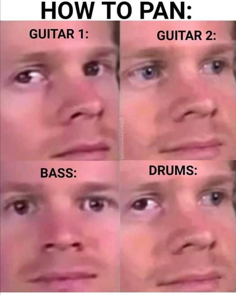 how to pan band meme