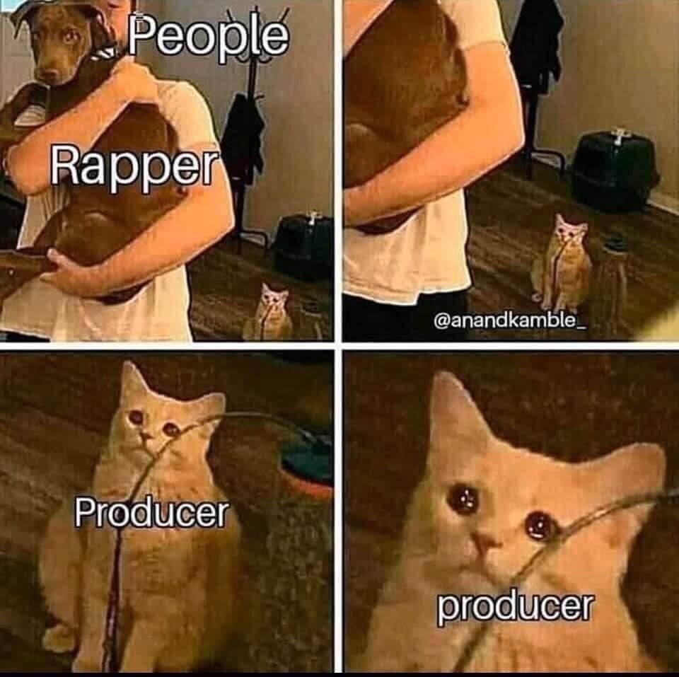 people vs rapper vs beatmaker meme
