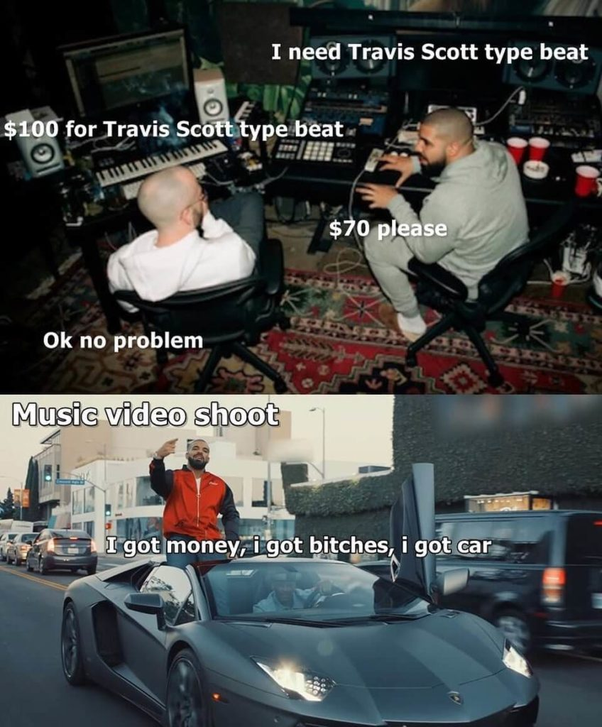 producer artist debate meme