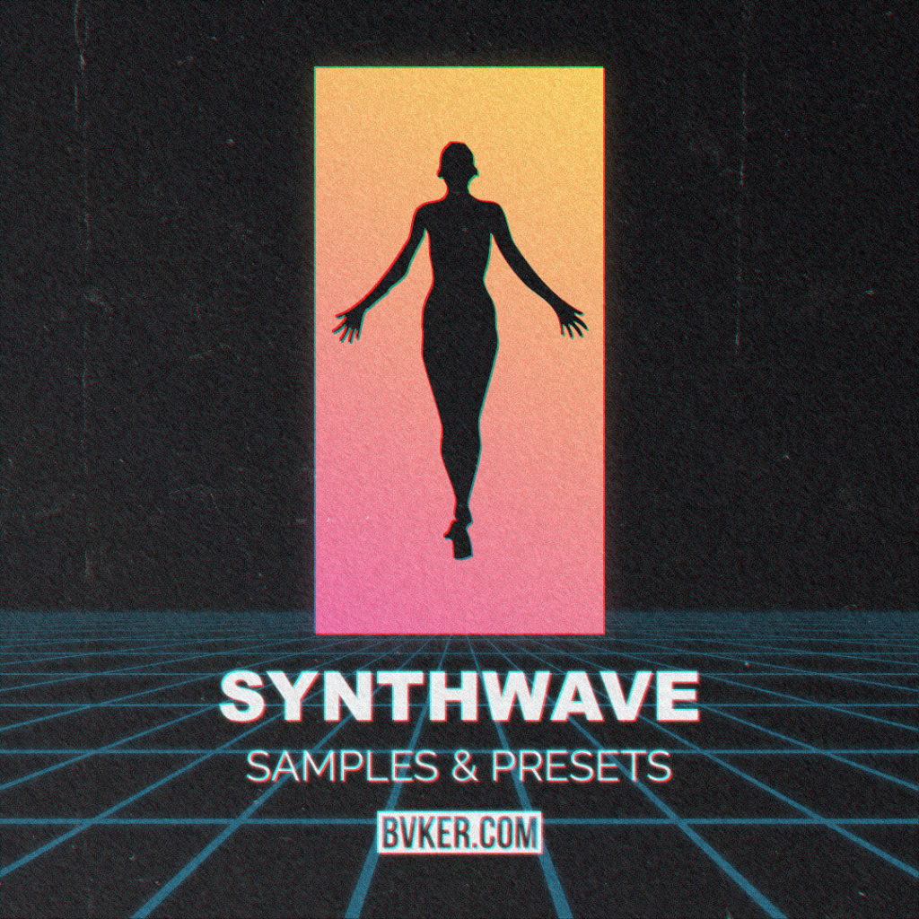 BVKER - Synthwave Sample Pack - Cover
