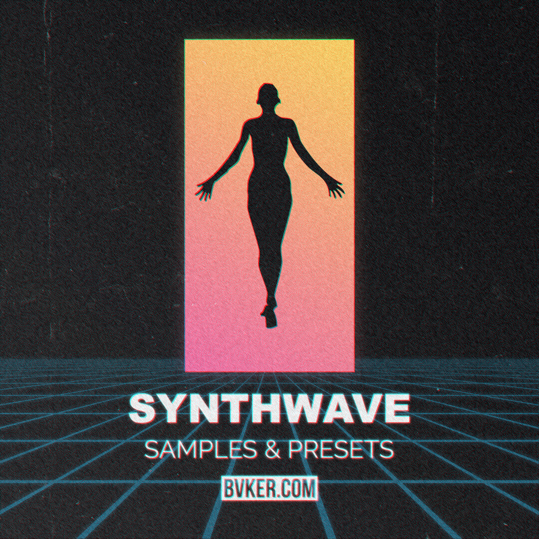 BVKER - Synthwave Sample Pack - Cover