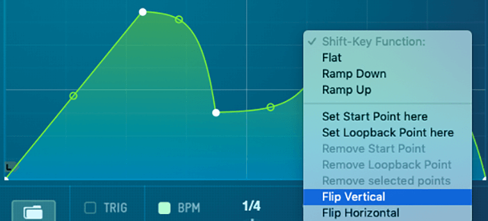 Flip Serum LFO Vertical