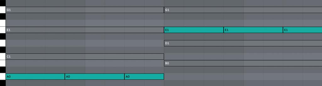 bass rhythm
