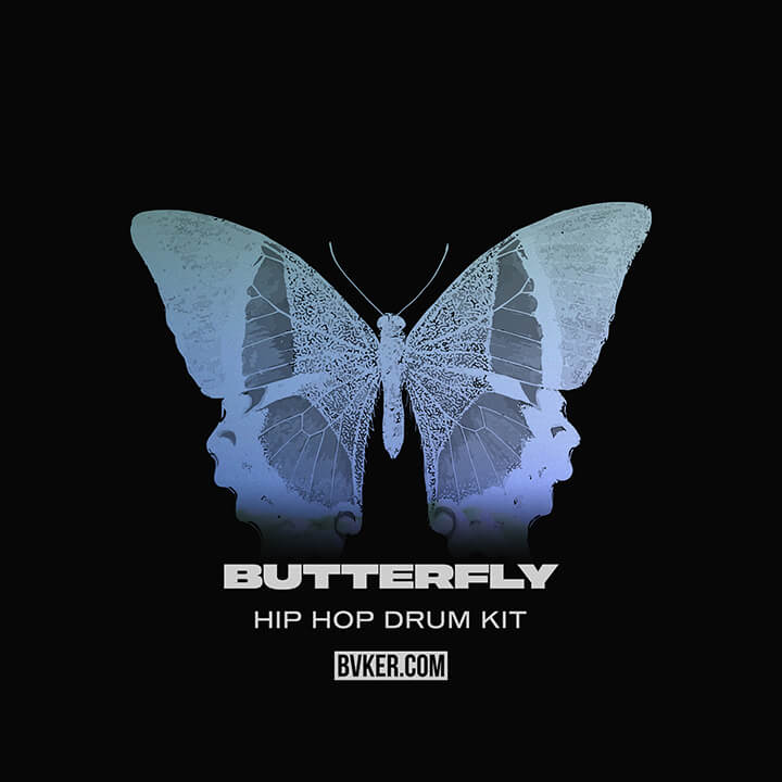 BVKER - Butterly Hip Hop Drum Kit