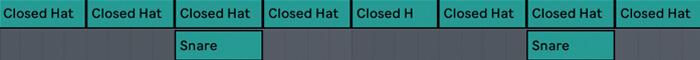 Classic Boom Bap Drum Pattern 01