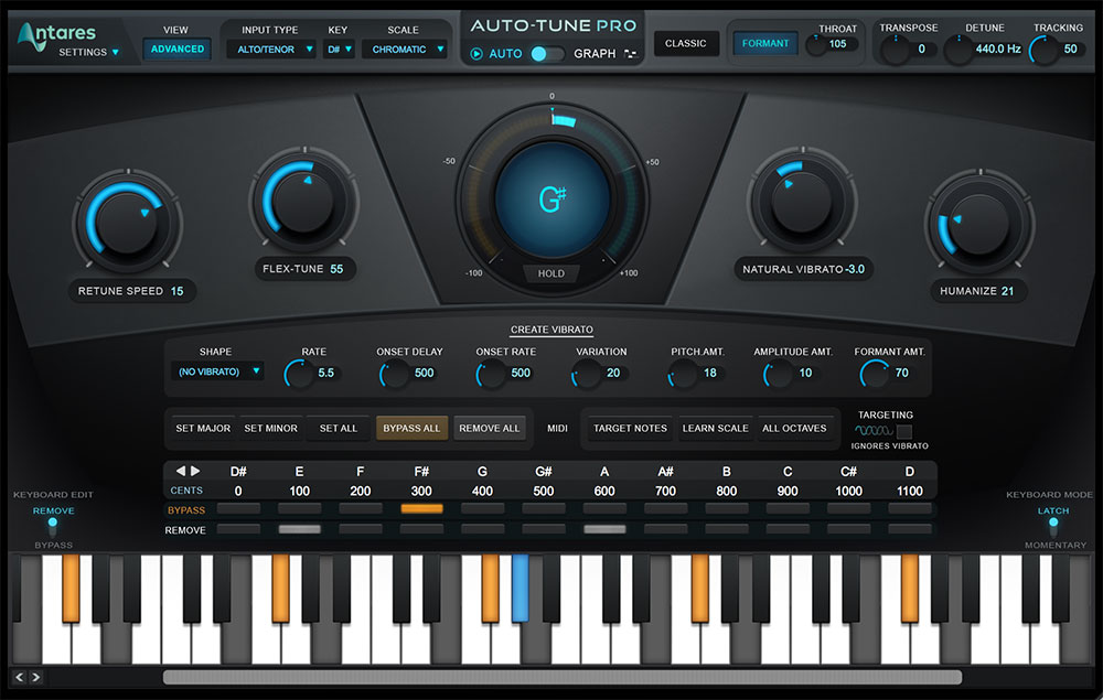 Antares Auto-Tune Screenshot