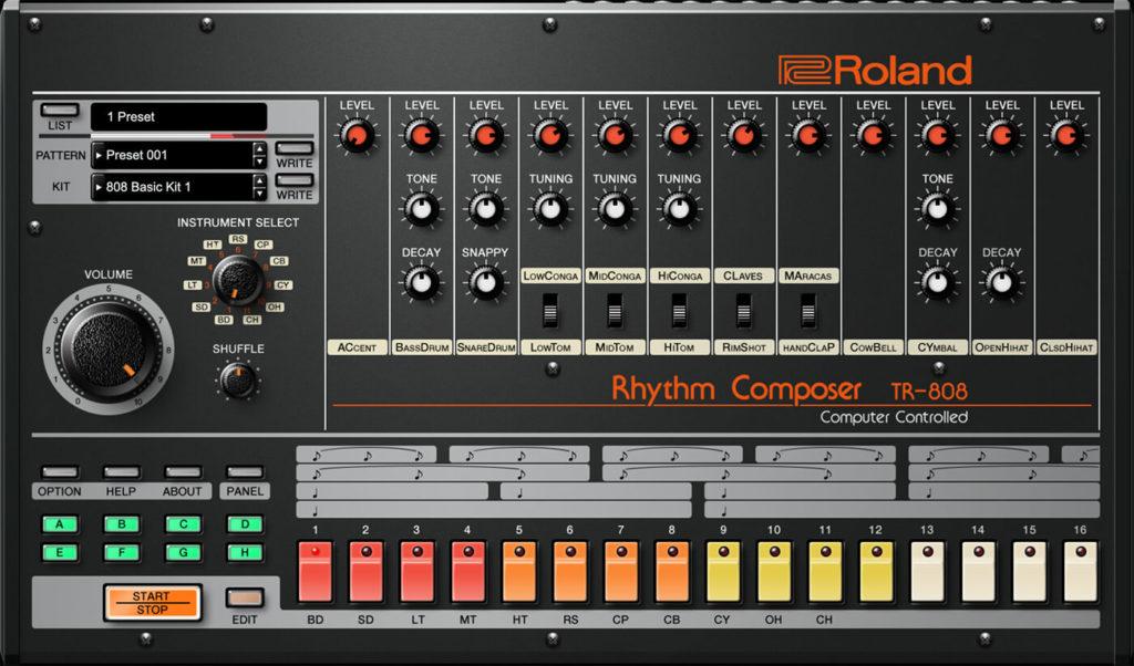 Roland Cloud TR-808 Screenshot