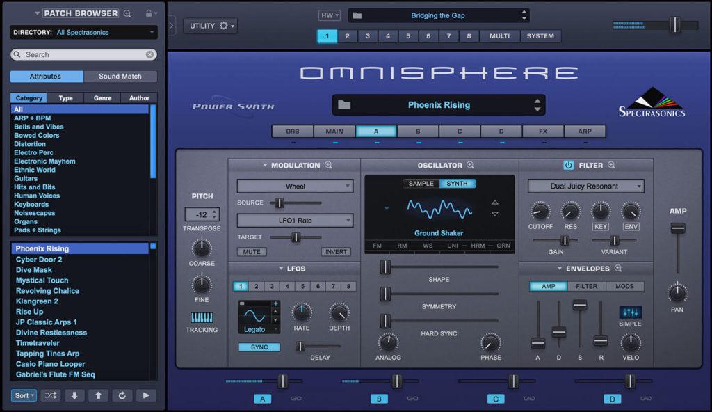 Spectrasonics Omnisphere Screenshot
