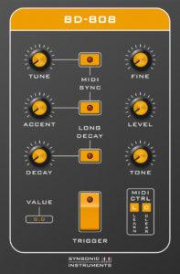 Synsonic Instruments BD-808 Screenshot