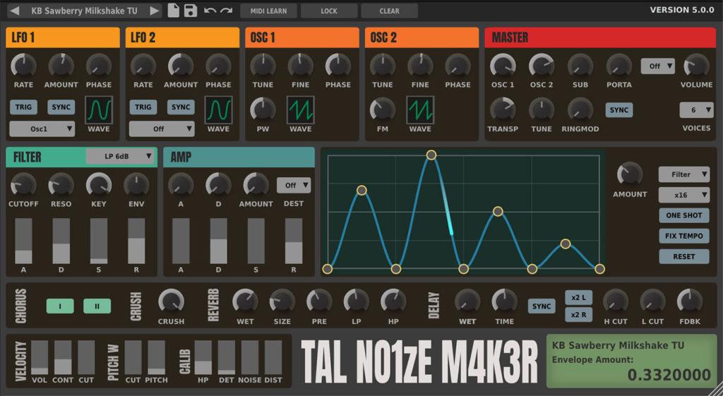 TAL-NoiseMaker Screenshot