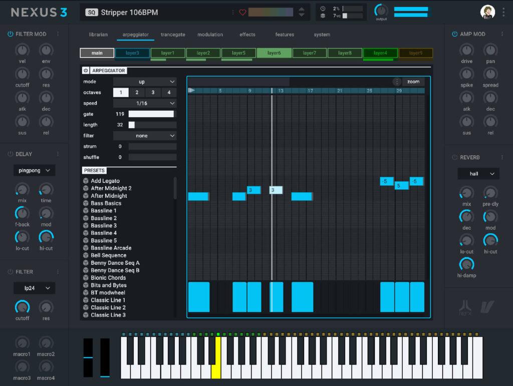 reFX Nexus Screenshot