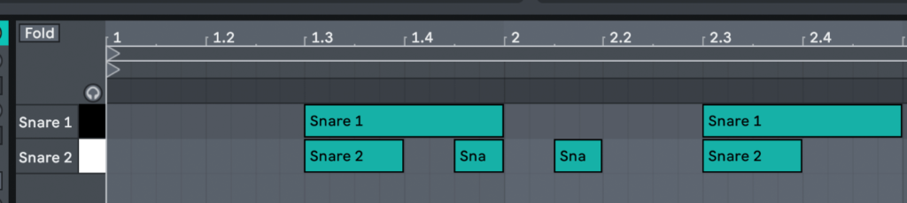 trap snare patterns - BVKER